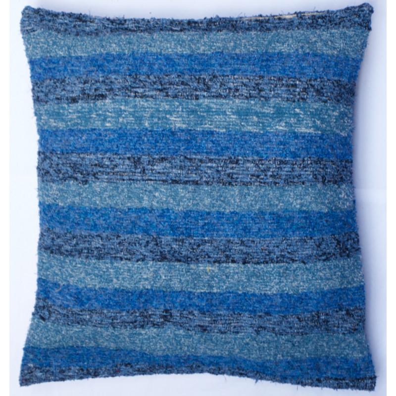 pouf ouarzazate turquoise bleu noir 100 cm jinzu sprl. Black Bedroom Furniture Sets. Home Design Ideas