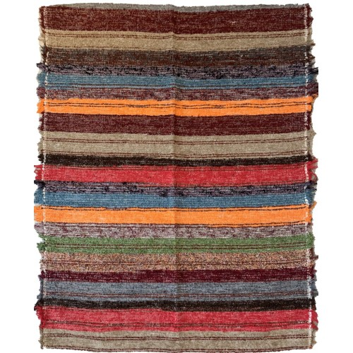 OUARZAZATE multicolore orange rouge beige