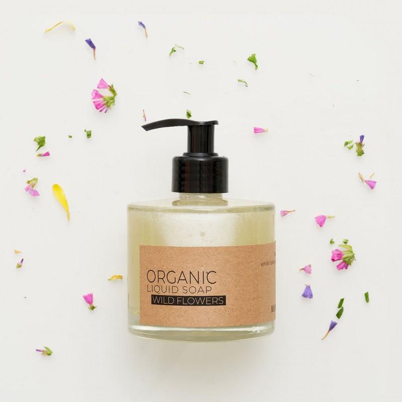 WILD FLOWERS ORGANIC LIQUID SOAP
