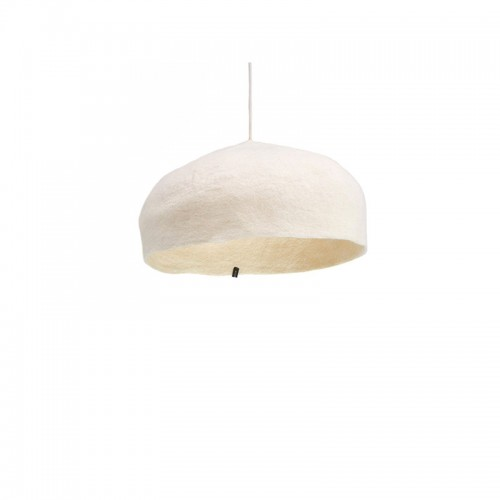 LARGE WHITE LAMPSHADE