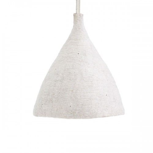 GREY CONICAL LAMPSHADE