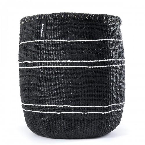 White stripe MIFUKO basket