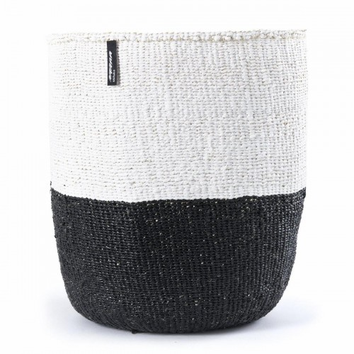 Black and white MIFUKO basket