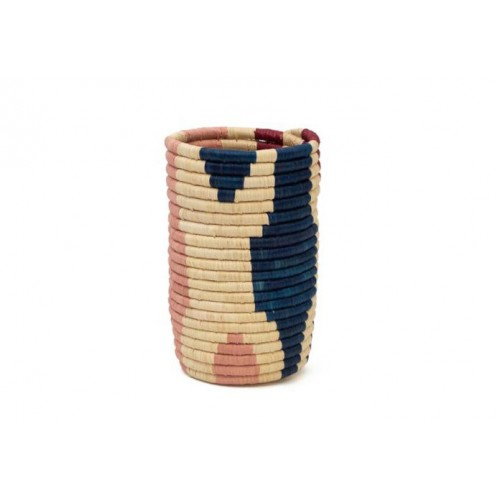 Pink and blue Chloé vase