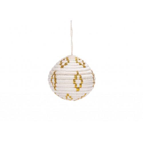 Globe Gold Metallic Ornament