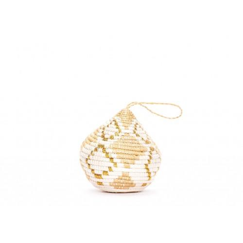 Soft Gold Bulb Ornament