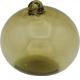 Boule en verre soufflé ambre