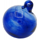 Blue Blown glass ball
