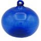 Boule en verre soufflé bleu