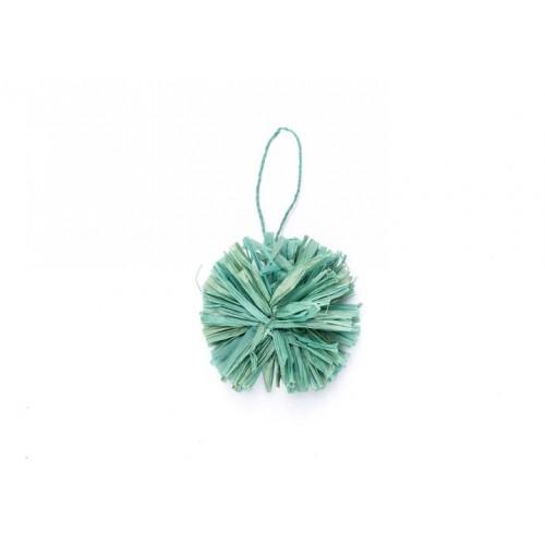 Mist Pom Pom Ornament
