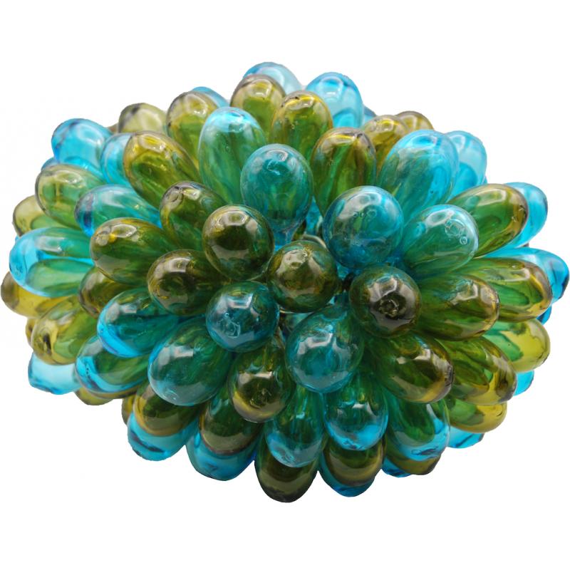 Lampe Baladi Olive Turquoise