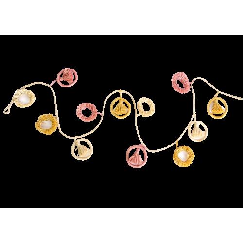 Guirlande Blossom Mustard Shape