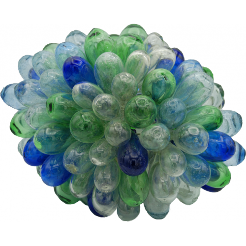 Blue Green Transparent Lamp