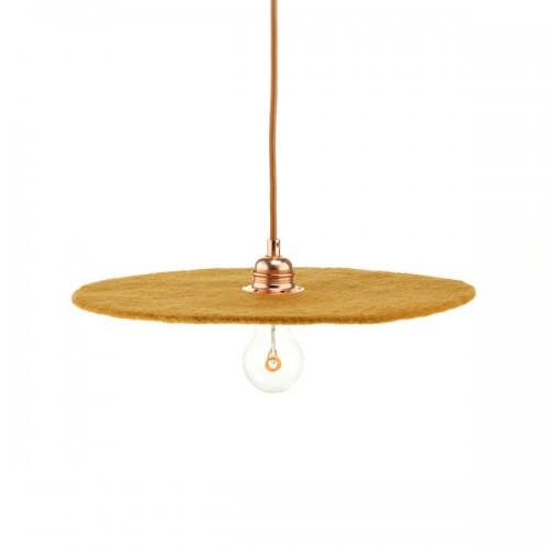 FULLMOON OCHER LAMP