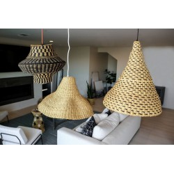 LAMPES EN SISAL